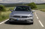Volkswagen Passat saloon 2019 LHD UK plate front head-on