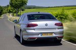 Volkswagen Passat saloon 2019 LHD UK plate rear tracking
