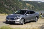 Volkswagen Passat saloon 2019 LHD UK plate front static