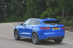 Jaguar F-Pace driving