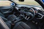 Audi Q3 Sportback 2019 RHD dashboard