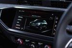 Audi Q3 Sportback 2019 RHD infotainment