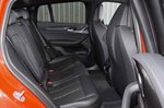 BMW X4 M Competition 2019 RHD rear seats
