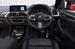 BMW X4 M Competition 2019 RHD dashboard