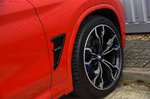 BMW X4 M Competition 2019 front wheel detail