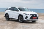 Lexus RX 2019 LHD front right static