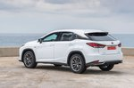 Lexus RX 2019 LHD rear left static
