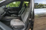 Audi S4 2019 RHD front seats
