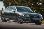Audi S4 2019 RHD front cornering.
