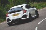 Honda Civic Type R 2019 RHD rear tracking
