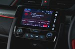 Honda Civic Type R 2019 RHD infotainment
