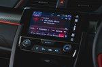 Honda Civic Type R 2019 RHD infotainment