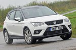 Seat Arona front three quarters