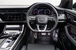 Audi SQ8 dashboard