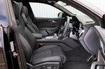 Audi SQ8 front seats
