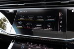 Audi SQ8 upper touchscreen