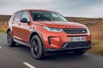Land Rover Discovery Sport 2019 front cornering