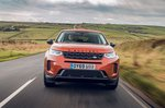 Land Rover Discovery Sport 2019 front head-on tracking
