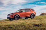 Land Rover Discovery Sport 2019 right off road