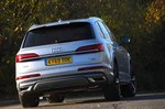 Audi Q7 2019 rear right cornering