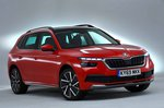 Skoda Kamiq 2019 RHD front right static studio