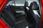 Kia Stonic RHD rear seats
