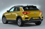Volkswagen T-Roc 2021 rear left studio static
