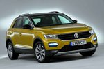 Volkswagen T-Roc 2019 front left studio static