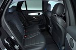 Mercedes-Benz GLC 2019 rear seats