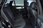 Mercedes-Benz GLC 2021 rear seats
