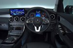 Mercedes-Benz GLC 2019 RHD dashboard