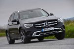Mercedes-Benz GLC 2019 front cornering