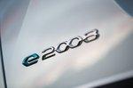 Peugeot e-2008 2019 rear emblem detail