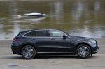 Mercedes EQC driving