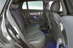 Mercedes EQC rear seats