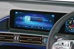 Mercedes EQC infotainment