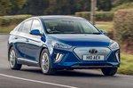Hyundai Ioniq Electric 2019 front RHD front cornering