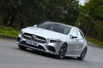 Mercedes A-Class driving