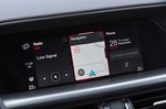 Alfa Romeo Stelvio 2019 infotainment (LHD)