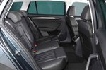 Skoda Superb Estate 2019 rear seats RHD