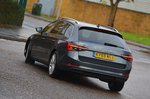 Skoda Superb Estate 2019 rear right cornering