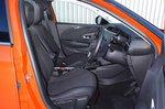 Vauxhall Corsa 2019 front seats RHD