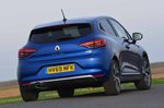 Renault Clio 2019 rear right cornering RHD