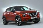 Nissan Juke 2019 front right studio RHD