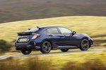 Honda Civic Hatchback 2021 wide tracking RHD