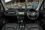Jeep Renegade 2018 dashboard RHD