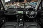 Jeep Renegade 2018 dashboard RHD
