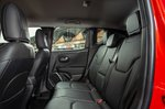 Jeep Renegade 2018 rear seats RHD