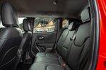 Jeep Renegade 2018 rear seats RHD