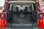 Jeep Renegade 2018 boot open RHD